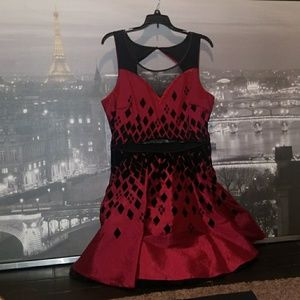 Beautiful Harley Quinn themed dress (XL)